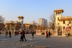 Tianjin Italian style,China. Italian style street, located in Tianjin city of Hebei District, also known as the Italy customs area, Italy is the original Stock Images