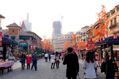 Tianjin Italian style,China. Italian style street, located in Tianjin city of Hebei District, also known as the Italy customs area, Italy is the original Royalty Free Stock Image