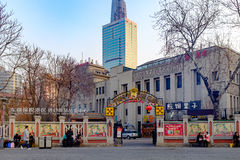 Tianjin Italian style,China. Italian style street, located in Tianjin city of Hebei District, also known as the Italy customs area, Italy is the original Stock Photography
