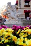 Tianjin Italian style,China. Italian style street sculpture Stock Image