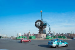 Tianjin-Jahrhundert-Borduhr Stockbild
