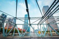 Tianjin liberation steel bridge Royalty Free Stock Photo