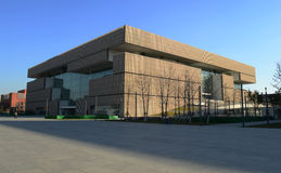 Tianjin Library. Tianjin Library Tianjin China  photoed on november 25th 2013 Royalty Free Stock Images