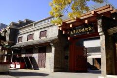 Tianjin Ludowy Muzealny Chiny Obrazy Stock