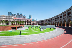 Tianjin minyuan stadium Royalty Free Stock Photography
