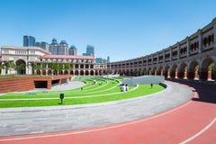 Tianjin minyuan stadium royalty free stock photography