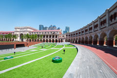 Tianjin minyuan stadium. Founded in 1920 , famous international cultural tourist attractions Stock Photography