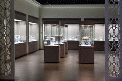 Tianjin Museum exhibits Royalty Free Stock Photo