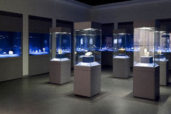 Tianjin Museum exhibits Stock Photography