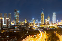 Tianjin night scene Stock Images
