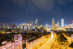 Tianjin night view Stock Image