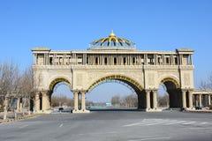TianJin staci kolejowej powietrza sztuka Zdjęcie Royalty Free