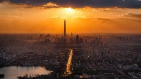 Tianjin, Twilight, City, Scenery Royalty Free Stock Photography