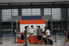 Tianjin västra järnvägsstation Royaltyfria Foton