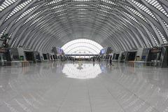 Tianjin västra järnvägsstation Royaltyfri Bild