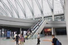 Tianjin västra järnvägsstation Royaltyfri Foto