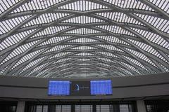 Tianjin västra järnvägsstation Arkivbild