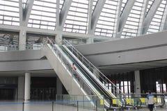 Tianjin västra järnvägsstation Royaltyfri Fotografi