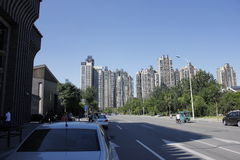 Tianjin västra järnvägsstation Royaltyfria Bilder