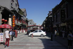 The street of tianjin city Royalty Free Stock Photography