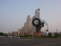 Tianjin zegaru zabytek w wieka Nowożytnym terenie Podróż w Tianjin Zdjęcia Stock