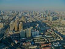 Tianjinmening van Radiotoren stock fotografie