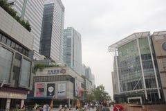 Tianli Środkowy biznesowy plac w SHENZHEN, CHINY, AZJA zdjęcie stock