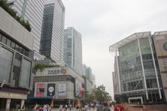 Tianli Central business plaza in SHENZHEN ,CHINA,ASIA Stock Photo