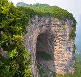 Tianmen Cave, Mount Tianmen National Park, China Royalty Free Stock Photos