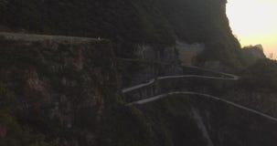 Tianmen Mountain National Park stock video