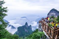 Tianmen Mountain Zhangjiajie, China Royalty Free Stock Image