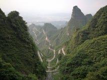 Tianmenberg royalty-vrije stock afbeeldingen