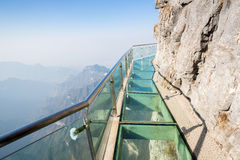 Tianmenshan Tianmen Mountain China Royalty Free Stock Photos