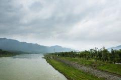 Tianmu brook scenery Stock Photos