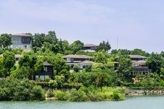 Tianmu lake scenery Royalty Free Stock Image