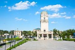 Tianqiao public square Stock Image