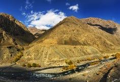 Tianshan góra w Xinjiang, Chiny Zdjęcia Stock