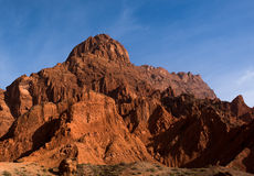 Tianshan grand canyon national geological park Royalty Free Stock Photo