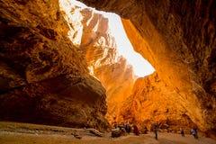 Tianshan grand canyon national geological park Royalty Free Stock Photography