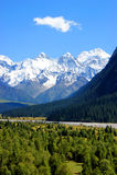 Tianshan Góry krajobraz Obrazy Stock