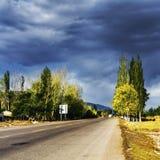 Tianshan Highway Royalty Free Stock Photos