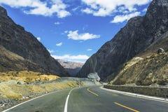 Tianshan Highway Royalty Free Stock Photography