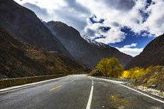 Tianshan Highway Royalty Free Stock Images