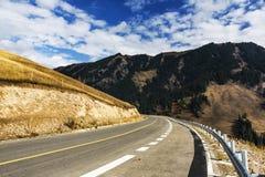 Tianshan Highway Royalty Free Stock Photo