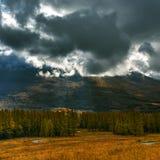 The Tianshan Mountains in autumn in Xinjiang Royalty Free Stock Image