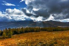 The Tianshan Mountains in autumn in Xinjiang Royalty Free Stock Photos