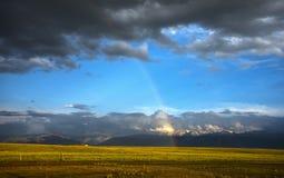 Tianshan Rainbow Royalty Free Stock Photography