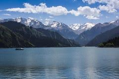 Tianshan Tianchi Lake Royalty Free Stock Image