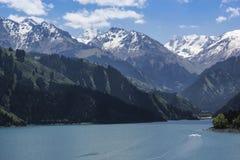 Tianshan Tianchi Lake Stock Photography