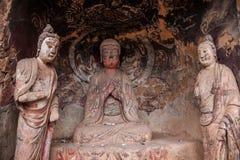 Tianshui Maiji Mountain Buddha Cave Chilbulbong Stock Image